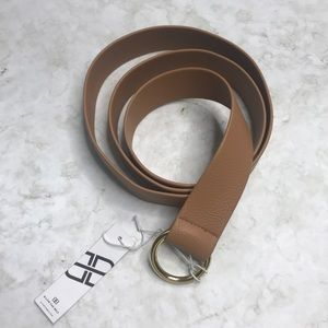 B-Low the Belt Tan Mia Fab Fit Fun NWT